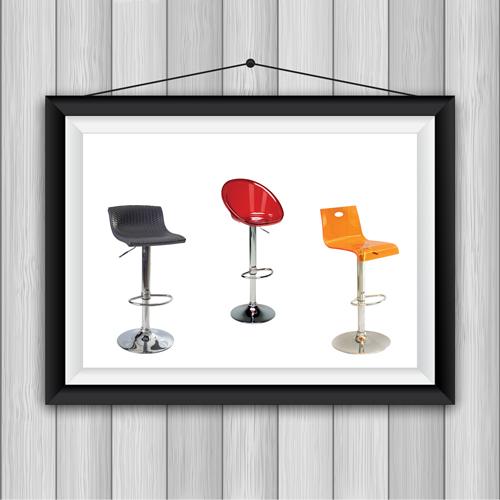 כיסאות בר מתכווננים