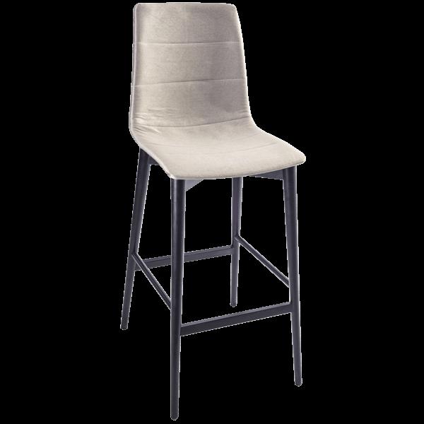 האחרון כיסאות בר עץ מרופדים - כסאות האחוזה - כסאות בר כסאות לפינת אוכל KE-97